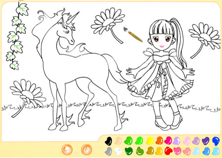 детские онлайн рисовалки разукрашки детские онлайн